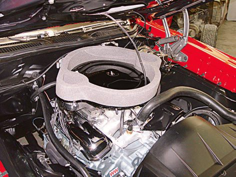 """Achieving a factory-correct engine restoration with all stock equip¬ment and finishes is no small feat, but it's something you can cer¬tainly accomplish. Unless your GTO is 100-percent complete and original, it may take some time to get all the required parts. With some research, patience, and skill, you can get it all """"correct."""" In the case of this 1969 GTO convertible, no expense has been spared to correctly restore this engine and the engine compart¬ment; it's as close to perfection as any. The engine paint, valve covers, air cleaner, accessories, hose clamps, and other equipment are all correct. But the restorer didn't stop there; the date codes on the hoses, belts, and plug wires are correct for the build date of the car.  An engine restoration for a pedigree Tri-Power, Ram Air IV, Judge, or other rare GTO is well deserved. You may not want to make this investment in a pedestrian 1969 GTO 400 2-barrel automatic because you won't recoup the investment from selling the car. In addition, the level of engine restoration should be determined by your personal taste, its intended use, whether your car is numbers-matching and of course, your budget. A daily-driver engine can be restored to the region of 75-percent correct and appear similar to stock. After all, it doesn't take a lot of money to make an attractive engine compartment, but making it 100-percent correct does. (Photo Courtesy Scott Tiemann)"""