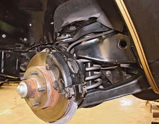 Up front, the 1970– 1981 Firebirds were equipped with unequal-length upper and lower control arms. After 30-plus years, suspension components such as ball joints, tie-rod ends, shocks, and springs are often worn out and need replacement.