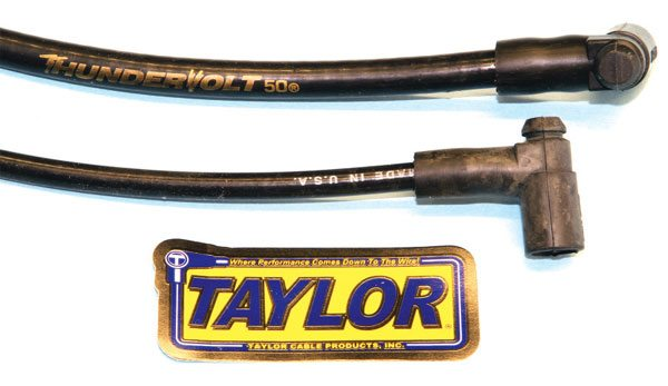 I have been using Taylor spark plug wires in my Pontiacs for many years with excellent results. The wires are very pliable and the sockets solidly snap onto the distributor cap and spark plug terminals. Taylor's wires are available in a universal length that must be trimmed and assembled accordingly or in pre-assembled sets with appropriate lengths. They're also fully compatible with most original and aftermarket ignition systems.