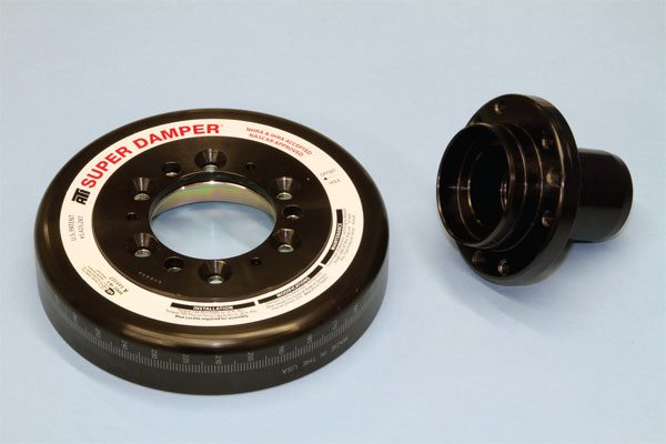 The Super Damper from ATI is a multipiece design that bolts together and is SFI certified. Its outer shell is fully indexed and is available in steel for most street/strip applications or in aluminum for engines that accelerate very quickly. It's among the best damper options available today for max-performance engines.
