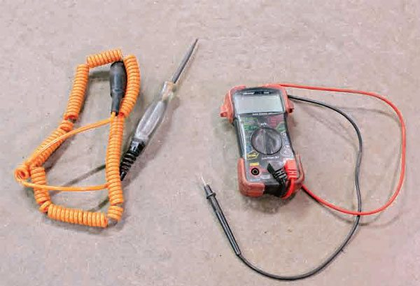 One of the tools you need to troubleshoot car-wiring problems is a simple multimeter. You can purchase a multifunction digital multimeter at a tool supply store.