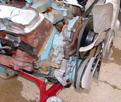Check the engine ID number against the VIN to determine if you have a numbers-matching car. If you do, it's much more valuable. However, even if you don't, that doesn't mean the car isn't worth restoring. A GTO with a replacement service engine, a different Pon¬tiac V-8, or a crate engine is certainly worth restor¬ing, but it's just not going to be worth as much.