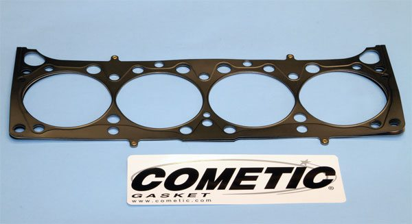 Cometic manufactures premium MLS cylinder head gaskets. It offers a variety of options for traditional Pontiac V-8 blocks as well as the aftermarket offerings with various bore diameters and compressed thicknesses. Its gaskets are an excellent choice for maximum-performance applications, and are completely compatible with stock rebuilds too.