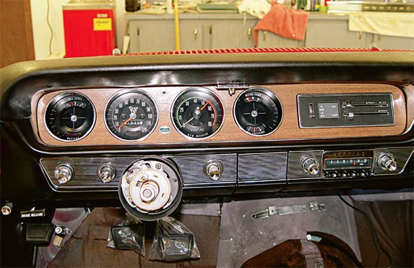 It is amazing how much of a differ¬ence fresh gauge lenses make in the overall look of a gauge cluster. If yours are cracked or yellowed, replacements are readily available. Sometimes, just a thorough cleaning and polishing restore their clarity and saves some money in the process. (Photo Courtesy Scott Tiemann)