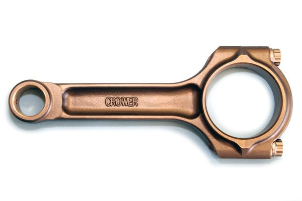 Crower supplies the hobby with many quality valvetrain components, but its Sportsman Big Block series connecting rods for Pontiac V-8s are considered among the best available today. Constructed of forged 4340-steel, the I-beam design offers excellent strength. They are available with pressed-fit and floating wrist pins and in popular stroker lengths too.