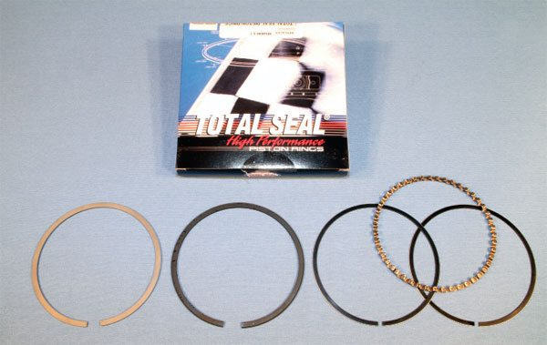 Total Seal is an industry leader in piston ring design and versatility. From barrel faced, ductile iron conventional rings with a moly-faced coating to high-end diamond lapped rings with gapless ends, it offers many common off-the-shelf sizes and produces myriad custom sets as well. Total Seal offers some of the best ring sets in the industry, especially for highly specialized applications where very high cylinder pressure or very low drag is required.