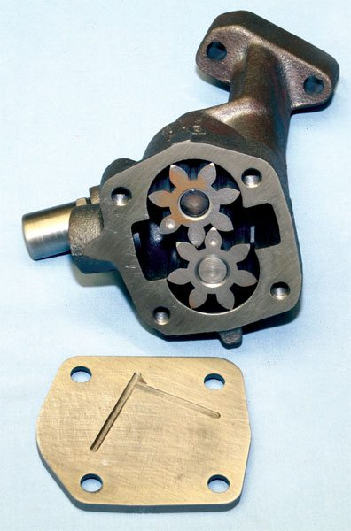 The Pro-Series oil pump from Butler Performance may be the best OE-type Pontiac pump available today. It begins life as a standard Melling unit that Butler blueprints and adds a thick bottom plate to maximize performance and reliability in applications producing 1,000 hp or more. It's wet flowed and pressure tested before shipping, which reduces the chance of oil-pressure-related issues upon immediate startup.