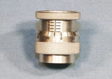 This valvespring micrometer, and other similar units, determine the installation height of a valvespring when combined with the particular length of valve and retainer that's being used. Available within specific ranges, this Comp Cams unit measures from 1.4 to 1.8 inches.
