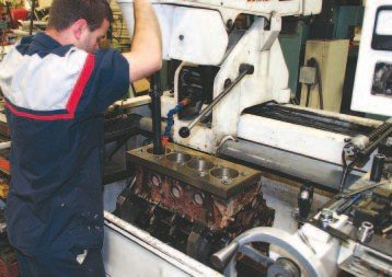 A high-quality machine shop should possess the equipment required to properly machine a Pontiac block. That includes using a Pontiacspecific torque plate for boring and honing cylinder walls and a line hone to restore main journal geometry.