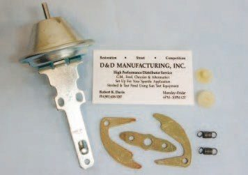 Not everyone has access to professional distributor testing equipment. Not to worry! Bob Davis Distributors can provide you with a high-quality re-curve kit that contains everything required to properly adjust your HEI's mechanical advance.