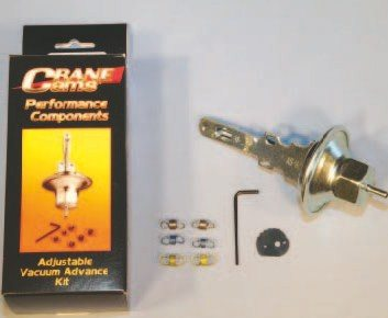 Crane Cams Adjustable Vacuum Advance kit offers complete and independent adjustability of the amount of vacuum advance and the vacuum actuation point. Crane produces separate kits for pointstype and HEI distributors. They install easily and are quite simple to use. I recommend using a Crane kit in any application where vacuum advance testing is planned.