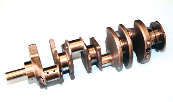 Eagle's cast and forged-steel crankshafts are very popular. They offer the quality and reliability required for highperformance applications. The forged cranks, which are constructed of 4340- steel alloy, are considered by many to be among the very best available today.