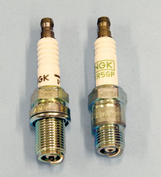 Spark plugs live in a harsh environment. They must fire consistently and reliably each time, and operate at a temperature that's hot enough to prevent fouling, but not so hot that it induces detonation. Spark plugs are produced by a number of companies, but I have found those from NGK to be among the best. Available in a variety of heat ranges and models compatible with the Pontiac V-8, it's best to discuss with your spark plug requirements with your Pontiac engine builder since each application is so different.