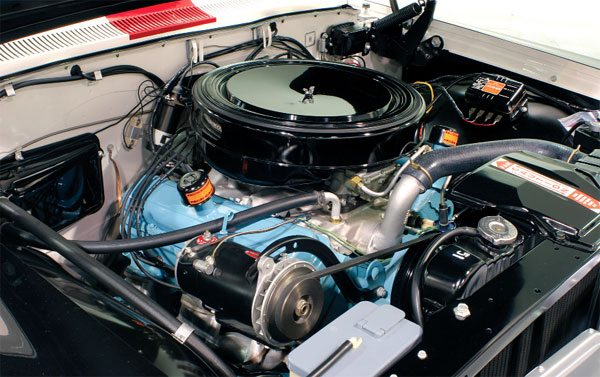 Initially available through its dealership parts counters for the Tri-Power 389 in 1960, Pontiac's Super Duty package included a forged-steel crankshaft and connecting rods, a solid-lifter camshaft, and high-flow cylinder head and exhaust manifolds. The package was available in 1961 with few enhancements, and it continued as a parts department purchase.