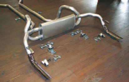 When it comes to exact reproductions of popular Firebird and GTO exhaust systems, many agree that Gardner Exhaust is an industry leader. Gardner used original exhaust pieces as templates to produce its complete reproductions, which look, fit, and function just like the originals. Gardner also reproduced the original hangers and clamps. If you seek a factory exhaust system, then Gardner Exhaust may be the answer. (Photo courtesy Eric Gardner)