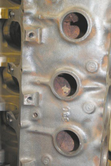 Pontiac blocks featured two freeze  plugs per side through 1966. Another was added in 1967, bringing the total to three. This is a quick and easy way to narrow down the vintage of a particular block when hunting for possible options at salvage yards or swap meets.