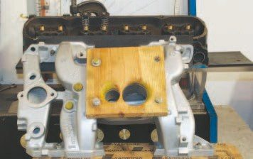 Flow testing an intake manifold can predict the effect it may have on total performance. The task is somewhat tedious and requires using a cylinder head and measuring each runner separately, but the results allow hobbyists to accurately determine the flow differences among various castings. Testing proves that there's very little flow variance from any 1968–1979 cast-iron 4-barrel intake manifold.