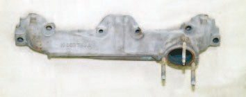 Common log-type exhaust manifolds are intended to do little more than gather exhaust gas and route it toward the muffler. Pontiac produced a wide variety of examples over the years for different chassis applications. While not the best choice for a high-performance rebuild, they are sufficient for mild- to moderate-performance applications. Used examples are relatively inexpensive, but be sure any replacement fits your particular Pontiac.