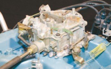 The Rochester Quadrajet was introduced in 1967 as a Tri-Power replacement. It replaced the AFB in low-performance 1968 applications as well and became Pontiac's only production 4-barrel carburetor. The design promotes maximum street manners while operating on the primary circuit, and strong fullthrottle performance when the large secondary barrels open. It saw minor modifications over the years and was used by Pontiac through the end of V-8 production 1981.