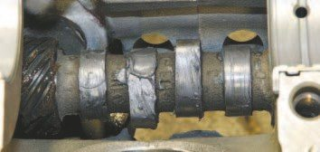 Flat-tappet camshafts can experience lobe and/or lifter failure if not properly broken-in. In addition to a specific break-in procedure, some camshaft manufacturers offer a thick paste that's applied directly to the lobe and lifter contact surfaces during installation to prevent scuffing at initial startup. I feel that a paste is better than a liquid because it's less likely to drip or come off the lobe or contact surfaces during initial engine operation. Ask your camshaft supplier for a recommendation.