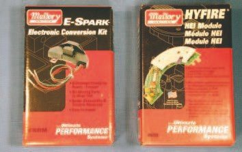 Mallory Ignition offers two excellent items for Pontiac distributors. Its electronic conversion kit (number 61001M) replaces the points set in a conventional distributor. Its revlimiting HEI module (number 699) is an excellent piece that directly replaces an original HEI module, offering complete rev-limiting control. I have used the Mallory module in my own HEI for several years. I highly recommend it to anyone looking to protect an engine while retaining a completely original appearance.